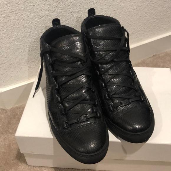 Balenciaga Shoes | High Top Arena Size